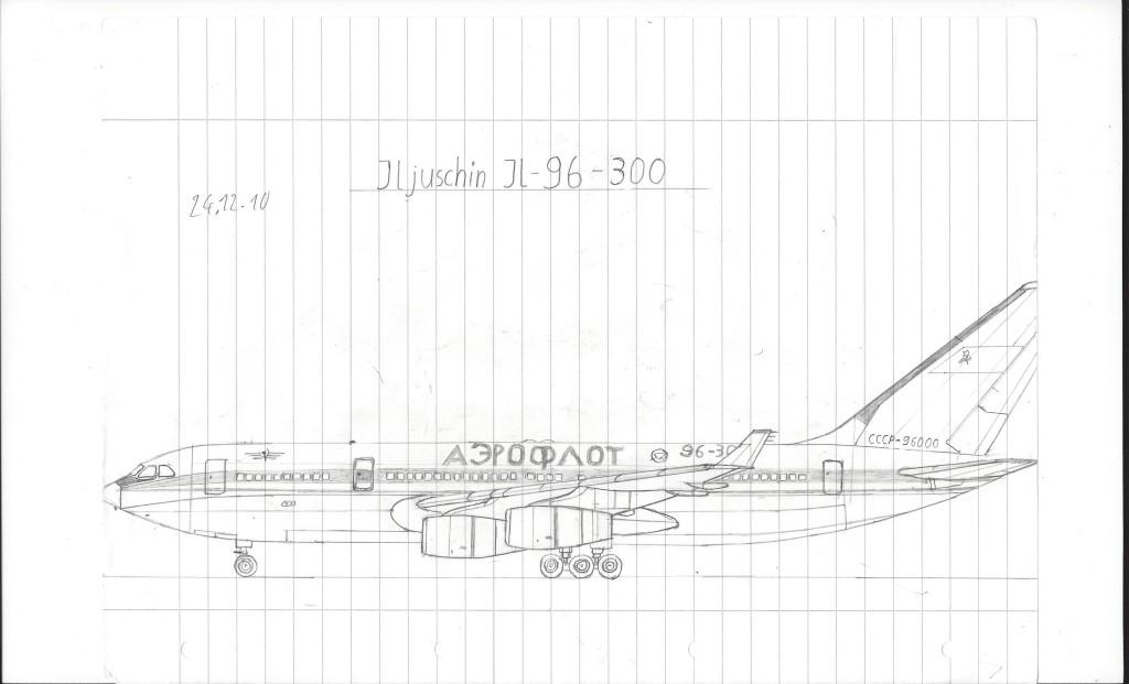 Iljuschin Il-96-300