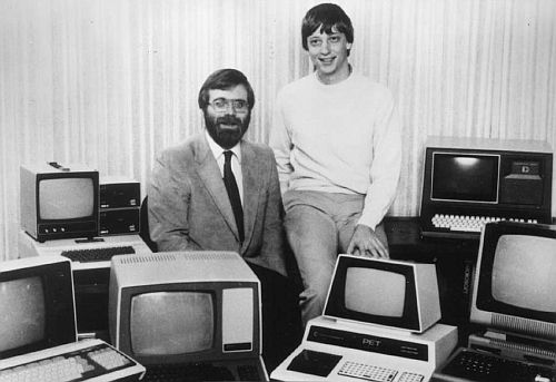 Bill Gates und Paul Allen 1978